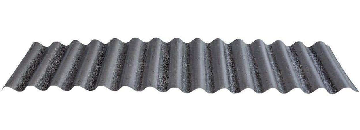 """7/8"""" Corrugated - Streaked Blackened Rust®"""